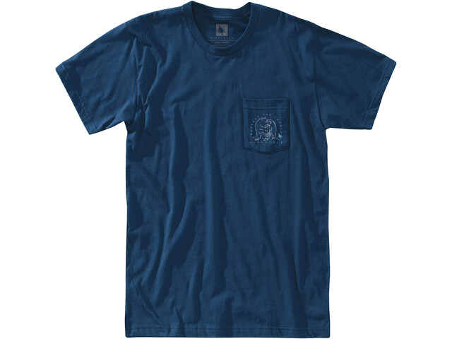 Hippy Tree Bearcam T-Shirt Homme, navy